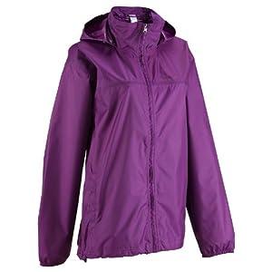 Quechua Raincut Zip Jacket for Women - Purple
