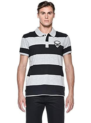 Rip Curl Polo Rugby Team S/S Polo (Nero)