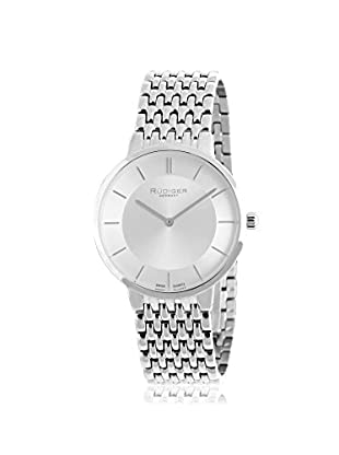 Rudiger Men's R2400-04-001B Kassel Analog Display Quartz Silver Watch