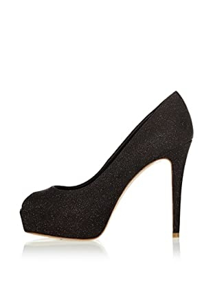 Elie Tahari Zapatos Peep Toe (Negro)