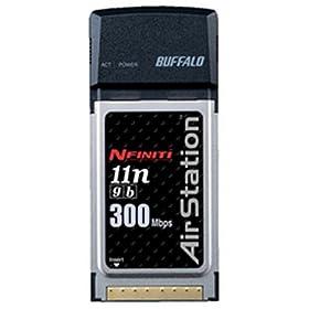 【クリックで詳細表示】BUFFALO Air Station NFINITI Giga Draft11n対応 11g/b CardBus用 無線子機 WLI2-CB-G300N