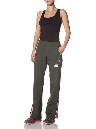 New Balance Women's Windblocker Pant (Raven)