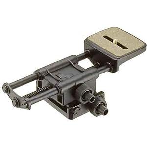 【クリックでお店のこの商品のページへ】Velbon 微動装置 スーパーマグスライダー マグネシウム製 473257: カメラ・ビデオ
