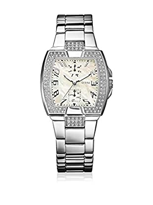 Guess Reloj de cuarzo Woman Plata 32 mm