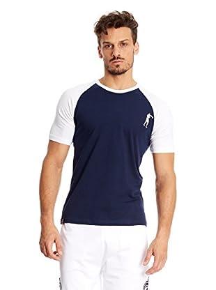 Boxeaur Des Rues T-Shirt Back Logo Raglan Contrast Col
