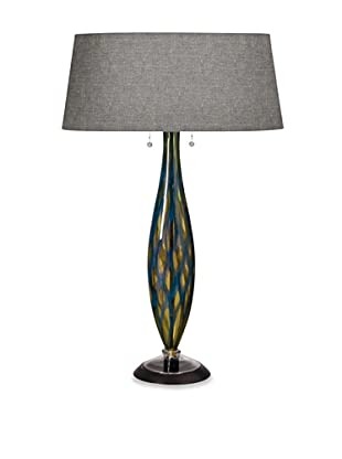 Fusion Z Glass Lighting Lucia Table Lamp (Blue)