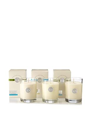 The Soi Co. Set of 3 13.5-Oz. Luxe Candles, Ocean Collection