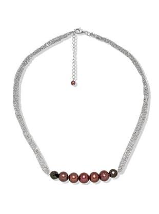 Nova Pearls Copenhagen Collana Perle Acqua Dolce 4 - 9 mm