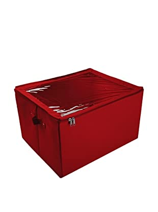 Zings Caja Con Ventana Almacén L Rojo