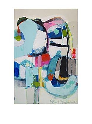 """Claire Desjardins """"Even Better Together"""" Embellished Giclée Print"""
