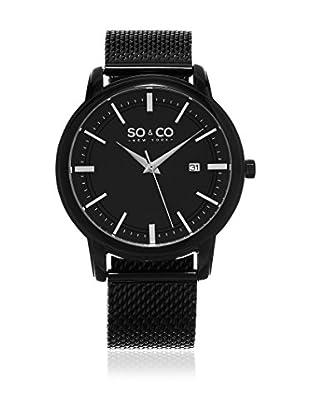 SO & CO New York Uhr mit japanischem Quarzuhrwerk Man GP15932 41 mm