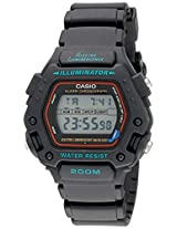 Casio Men''s DW290-1V Classic Alarm Chronograph Shock Resistant Sport Watch
