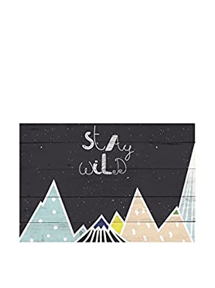 LITTLE NICE THINGS Panel Decorativo Stay Wild