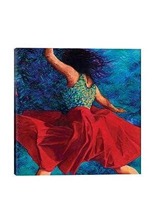 Iris Scott Red Skirt Canvas Print