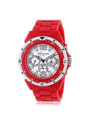 Sector Men's Expander 90 Red/White Plastic Watch