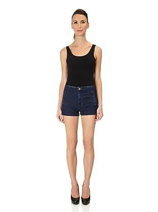 J Brand Shorts Sophia High Rise Slim (montego)