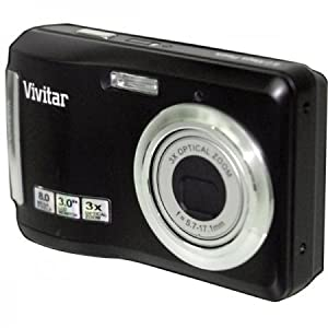 Vivitar VT328P 12.1MP HD Digital Camera with 3x Optical Zoom (Black)