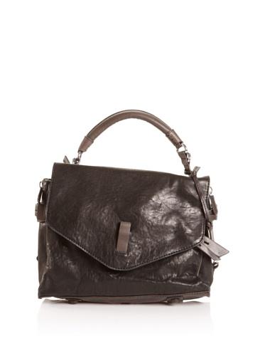 Gryson Women's Ruby Small Top Handle Messenger Bag (Black)