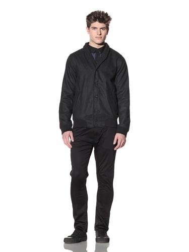 ZAK Men's Varsity Jacket (Charcoal)