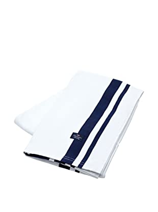 Lexington Company Mantel Rayas (Blanco / Azul)