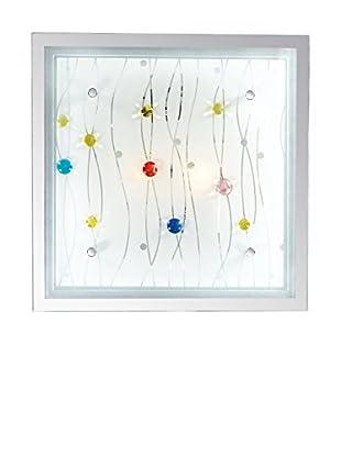 Evergreen Lights Wand- und Deckenlampe Ocean PL2 eis/mehrfarbig
