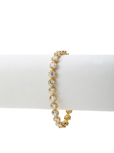 CZ by Kenneth Jay Lane Clear Tennis Bracelet