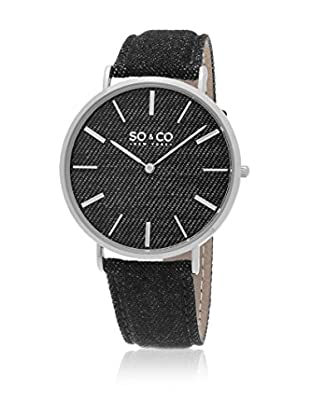SO & CO New York Quarzuhr Unisex GP15432 41 mm