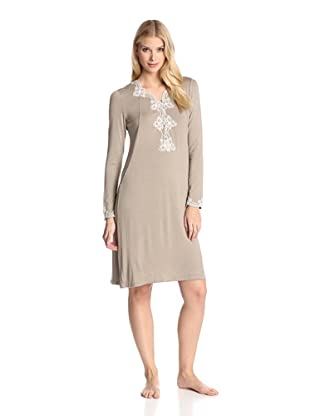 Valery Sleepwear Women's Biancaneve Night Gown (Sand)