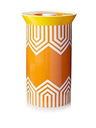 Happy Chic by Jonathan Adler Lola Large Canister, Orange Multi