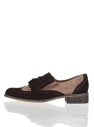 Vilagallo Zapatos Lengüeta (Negro)