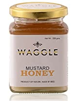 Waggle Mustard Honey, 350 grams