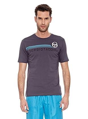 Sergio Tacchini Camiseta Manga Corta Brando Camiseta Manga Corta Brando (Azul)