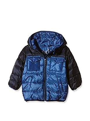 Add Daunenjacke Hooded Down Bicolor
