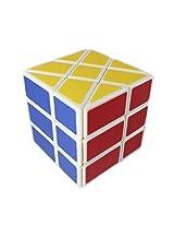 YJ Windmill Cube White 3x3x3 Shape Mod Twisty Puzzle Toy 3x3