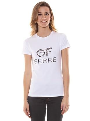 Gianfranco Ferré Camiseta Con Aplicaciones (Blanco)