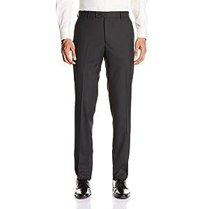 Black Coffee Men's Formal Trouser (Charcoal) (11120001345042)