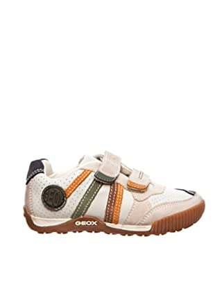 Geox Zapatillas Olimpus (Blanco / Verde)