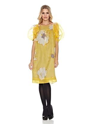 Monoplaza Vestido Monica (Amarillo)