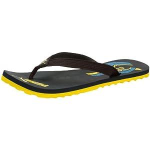 Puma Unisex Wave Ind. Black Flip Flops Thong Sandals - 4 UK