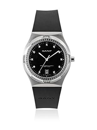 Gant Reloj con movimiento cuarzo japonés Fairfax W70191 Negro 37 mm