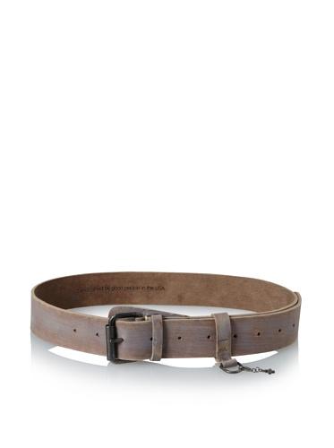 +Beryll Men's Vintage Wide Belt (Bone/Gold)