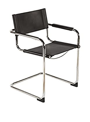 Control Brand The Ulkind Arm Chair, Black