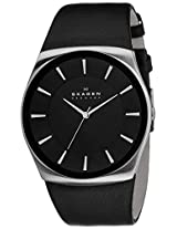 Skagen Analog Black Dial Men's Watch - SKW6017