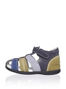 Kickers Kid's Babysun Sandal (Navy)