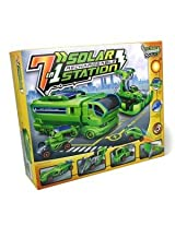 7-in-1 Rechargeable Solar Car Kit Station - Science Educational Kit