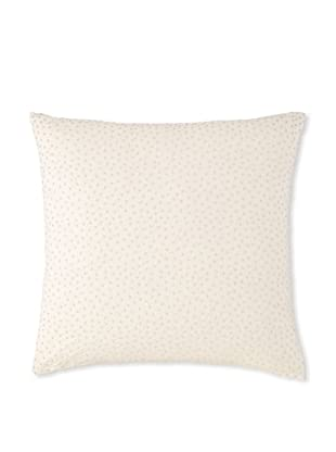 Waterford Linens Cassidy Decorative Pillow, Ecru/Grey, 20