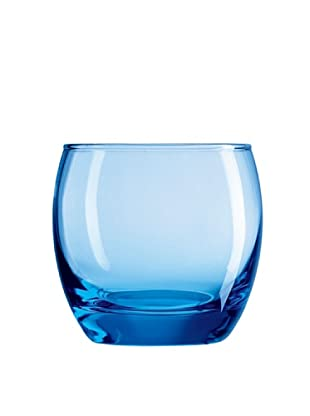 Luminarc Estuche 4 Vasos Forma Baja 32 Cl Modelo Salto Ice Blue