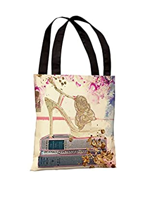 Oliver Gal Gold Shoe Tote Bag, Multi