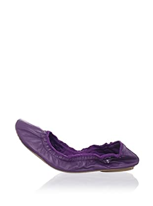 Ballasox by Corso Como Women's Festive Ballet Flat (Violet Butter Skin)