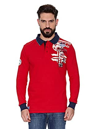 Geographical Norway Polo Manga Larga ML Karite Ls Men 401 (Rojo)